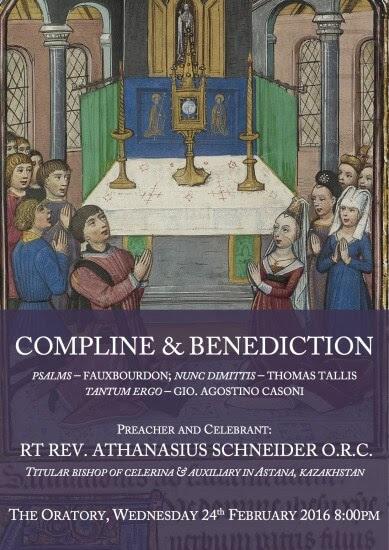 Schneider Compline Poster