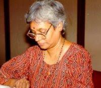 Image of C. S. Lakshmi (Ambai), 1944- (photo credit: Gaurav Sharma)