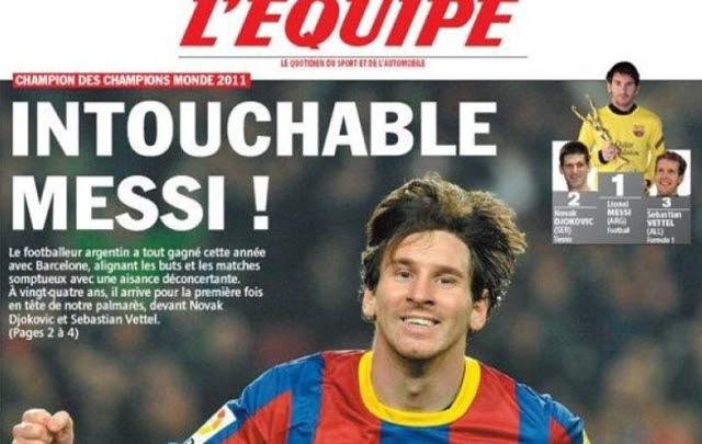 Lionel Messi, con un nuevo trofeo, apunta ahora sus cañones al Balón de Oro