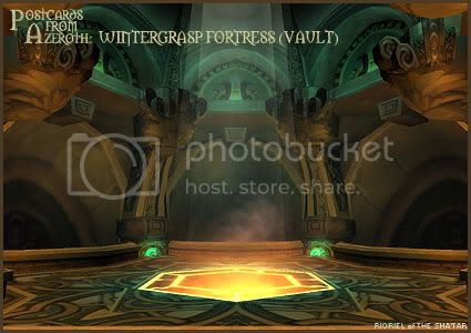 Postcards from Azeroth: Wintergrasp Fortress (Vault), by Rioriel Whitefeather