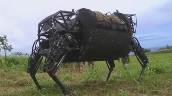 A la mula robot no la quieren en el Ejército de EE.UU.