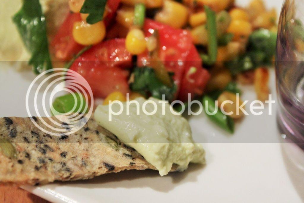 Three Recipes - Coriander Panna Cotta, Cauliflower Crackers, Quinoa Crackers