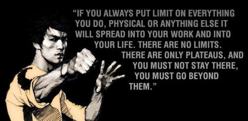 Limit Quote Bruce Lee The Dream Catcher