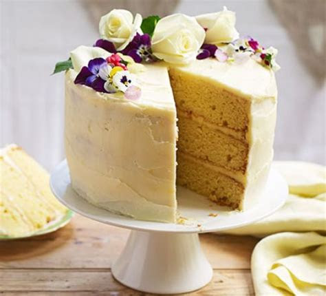 Lemon & elderflower celebration cake recipe   BBC Good Food