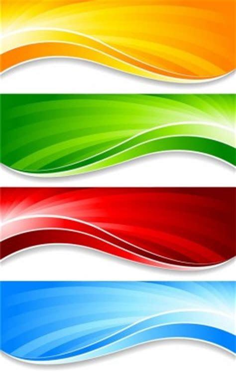 warna warni banner banner vektor vektor banner vektor
