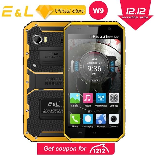 Kopen Goedkoop E amp; L W9 Smartphone Android 6.0 Inch 4g IPS Full HD Octa Core 4000 Mah IP68 Robuuste Waterdichte Schokbestendig Telefoon Touch Mobiele Online