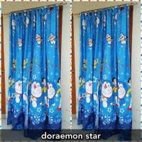 Download 45 Gambar Gorden Motif Doraemon Paling Baru HD