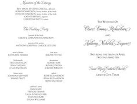 Civil Wedding Program Sample Philippines   Download Free