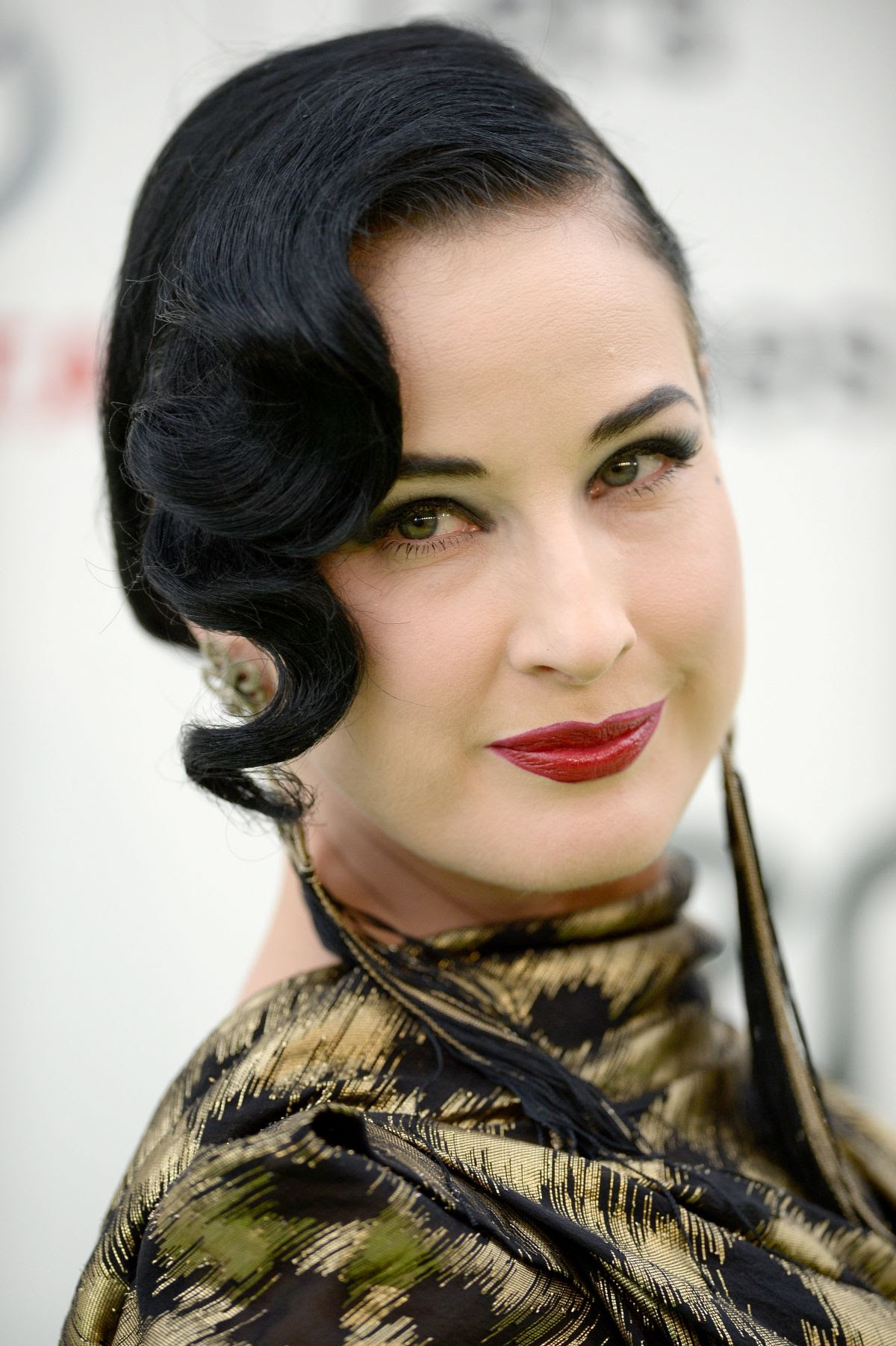 DITA VON TEESE at 2015 EMA Awards in Burbank 10/24/2015