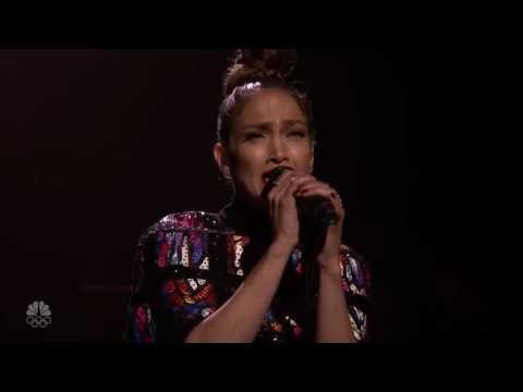 jennifer lopez live da jimmy fallon con love make the world go round