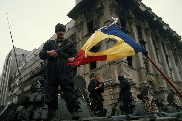 Soldiers 1989 romanian revolution