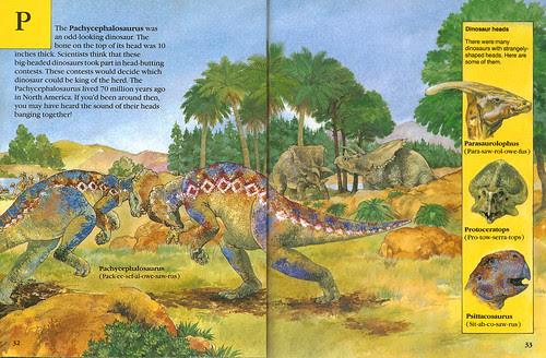 Pachycephalosaurus & friends