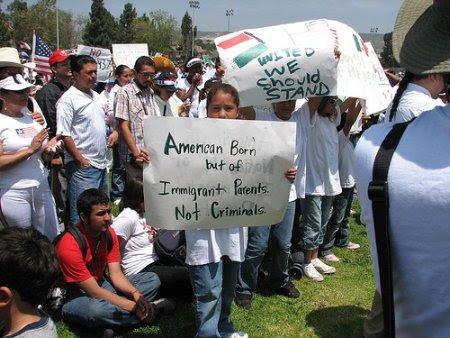 American born but of immigrant parents, not criminals
