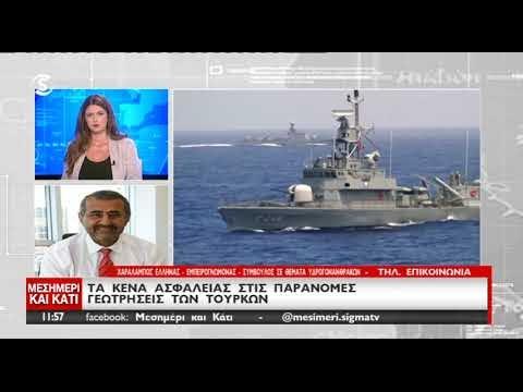 Τα κενά ασφαλείας στις παράνομες γεωτρήσεις των Τούρκων