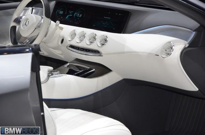 2013 Frankfurt Auto Show: Mercedes Benz Concept S Class Coupe