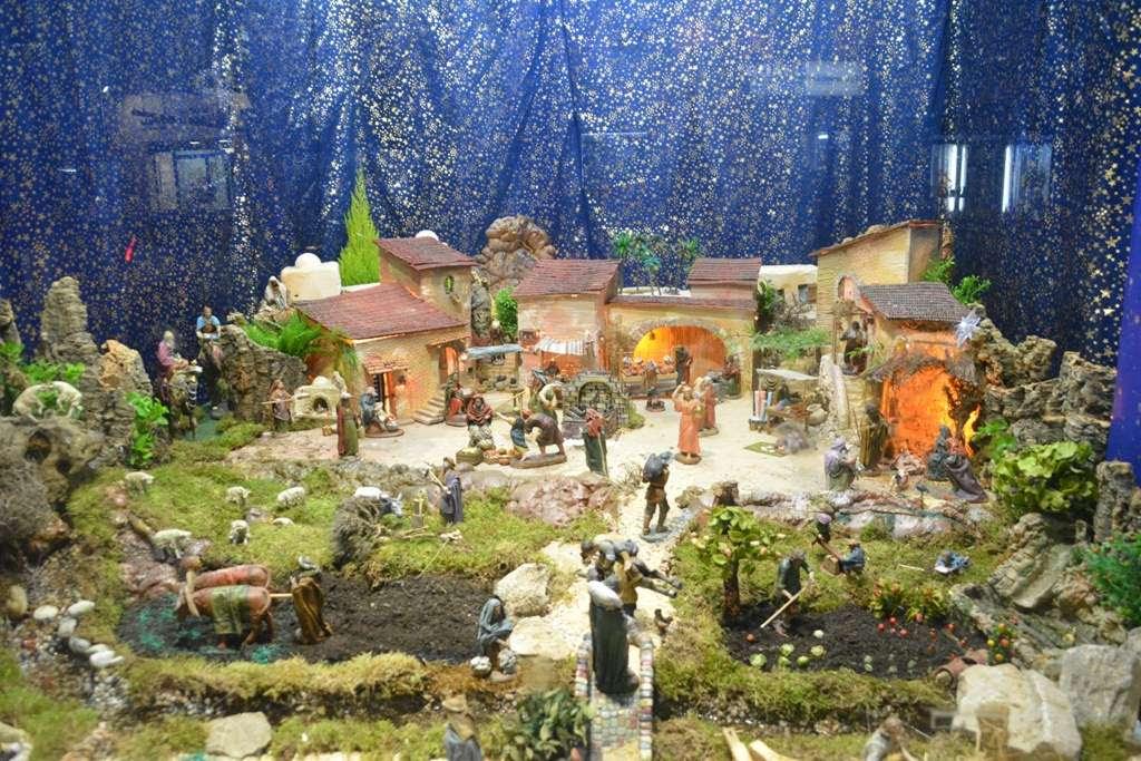 Belenes de Navidad en Madrid 2016