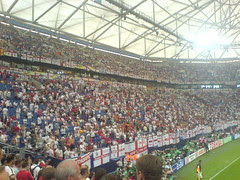 the English end