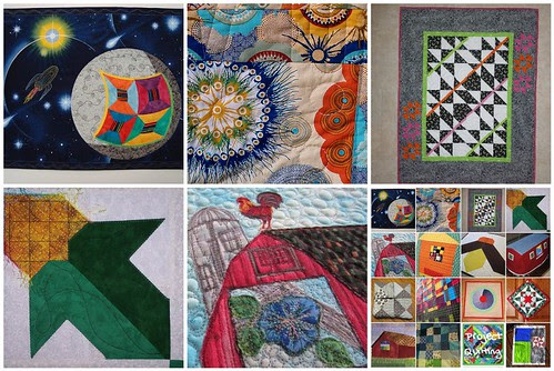 Project QUILTING Barn QUILT Challenge - Closer Look 1