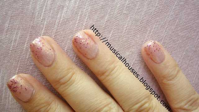 Breast Cancer Awareness Month manicure 2