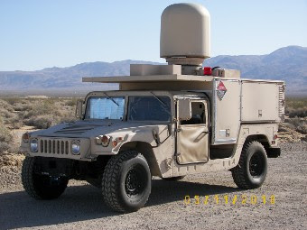 HAMMR на базе армейского вездехода HMMWV. Фото пресс-службы Northrop Grumman