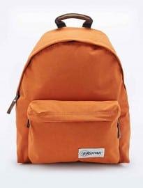 Eastpak Pakr Padded Backpack In Orange