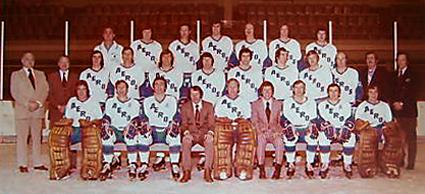 1972-73 Houston Aeros