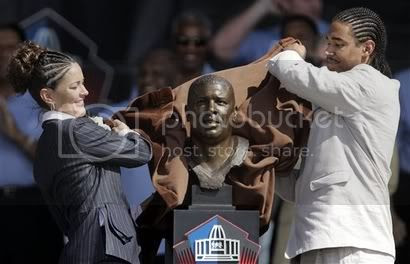 Hall Of Fame Induction.