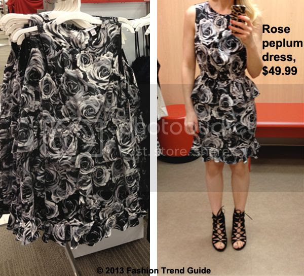 Kate Young for Target rose peplum dress