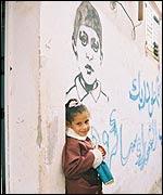 La hermana de Mohamed.