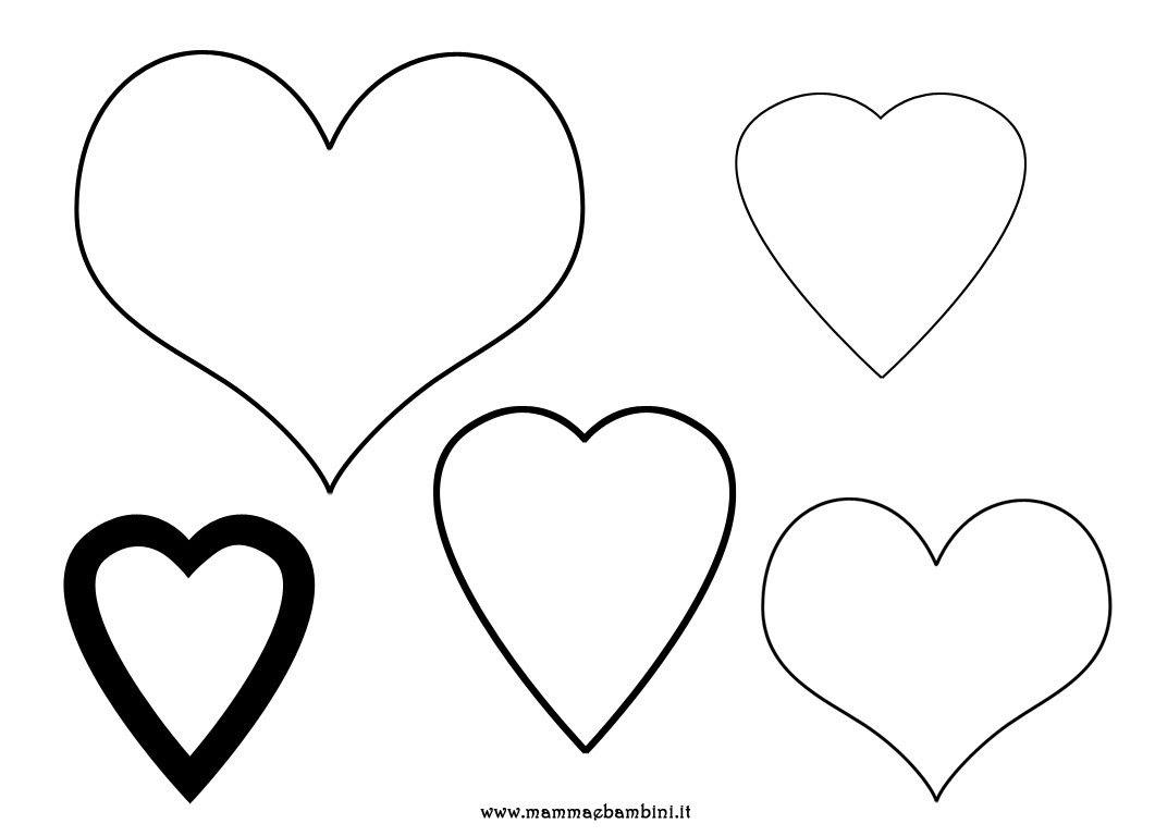 10 Disegni Da Colorare Di Cuori Con Dentro Due Persone Migliori