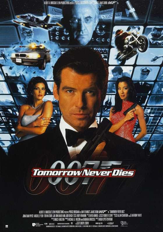 James Bond 007 Tomorrow Never Dies Poster