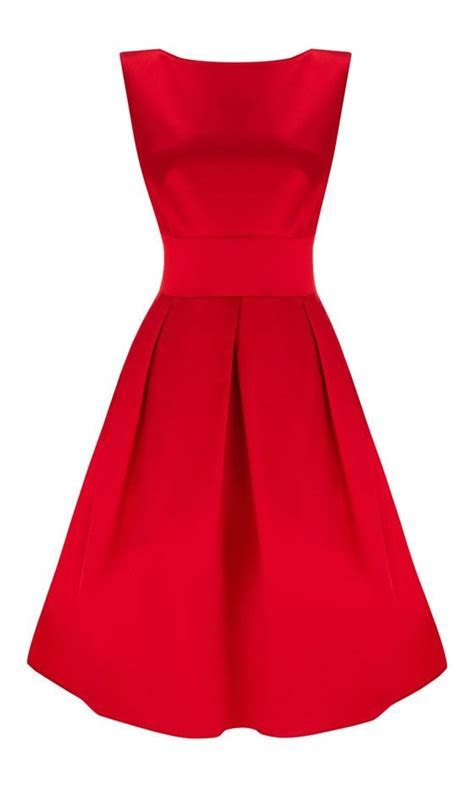 Lady in red, Red and Wedding guest dresses on Pinterest
