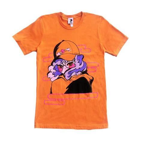 orange seaside lover  shirt apari art apparel