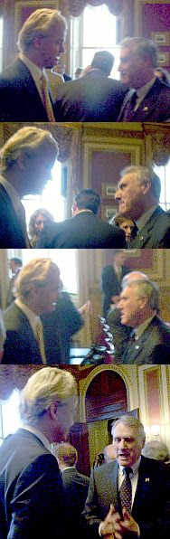 Geert Wilders and Sen. Jon Kyl
