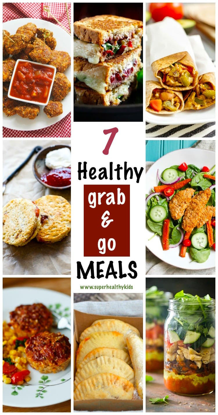 7 Super Easy and Healthy Grab and Go Meals! | Healthy ...
