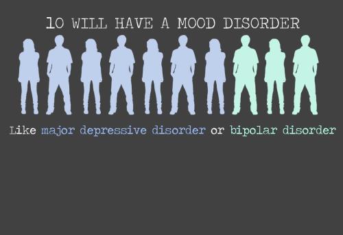 Trastorns intel·lectuals... tan lluny... tan a prop... 10 tenen depressió o trastorn bipolar