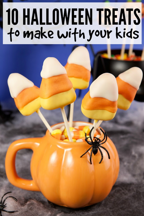 10 Halloween treats to make with your kids