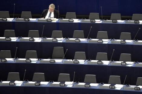 Sesión en Estrasburgo, el pasado octubre. | Efe