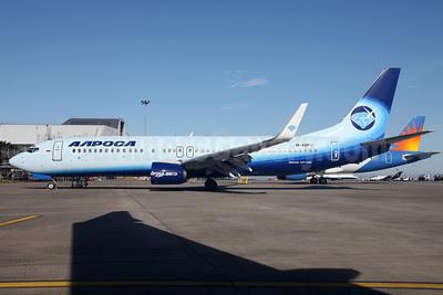 Alrosa Avia (Alrosa Air Company) Boeing 737-83N WL M-ABFV (EI-FCH) (msn 32576) DUB (Greenwing). Image: 913112.