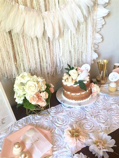 Kara's Party Ideas Whimsical Chic Swan Themed Birthday