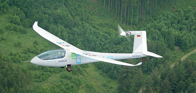 Ultra-light:  The e-Genius was partly funded by  Airbus, the European aviation giant