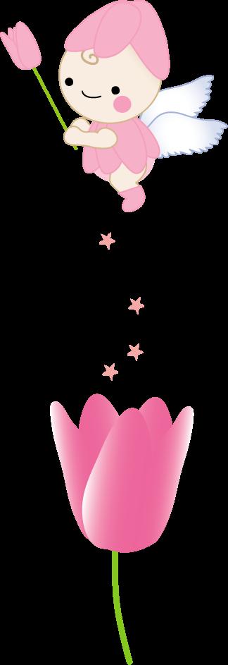 春チューリップのイラスト 無料イラストフリー素材