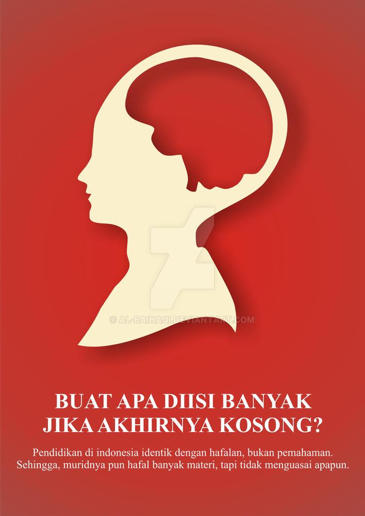 Poster Pendidikan by Al-Baihaqi on DeviantArt