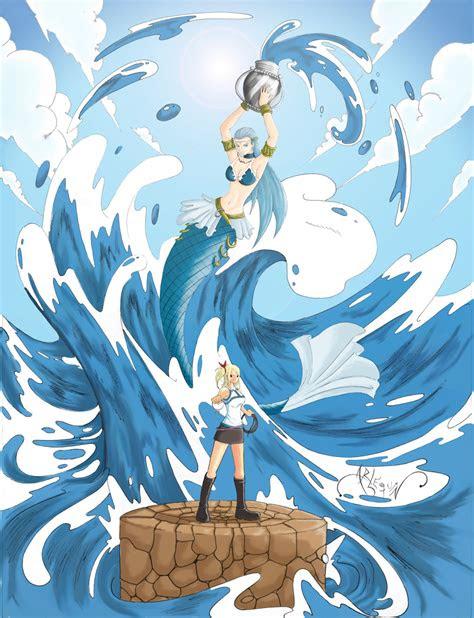 aquarius celestial spirit fairy tail daily anime art