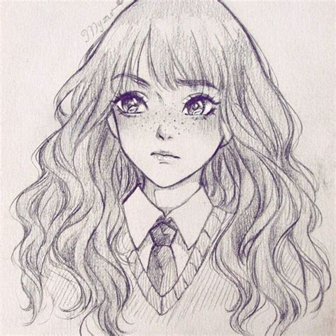 hermione granger nice drawing btw