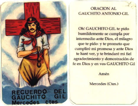 Gauchito Gil Diccionario De Mitos Y Leyendas