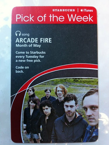 Starbucks iTunes Pick of the Week - Arcade Fire - Month of May