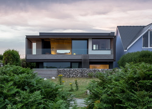 Desain Rumah Tepi Pantai Di Ujung Tebing Karya Studio Hyde Hyde Pt Architectaria Media Cipta