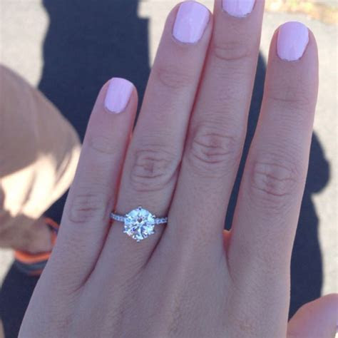 1000  ideas about Solitaire Engagement Rings on Pinterest