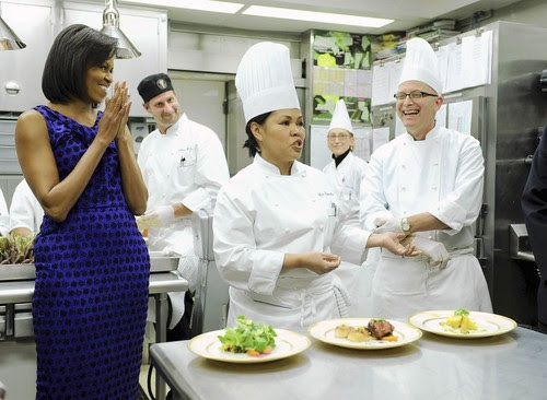 http://www.sweatyguineapig.com/wp-content/uploads/2009/03/michelle_obama_kitchen.jpg